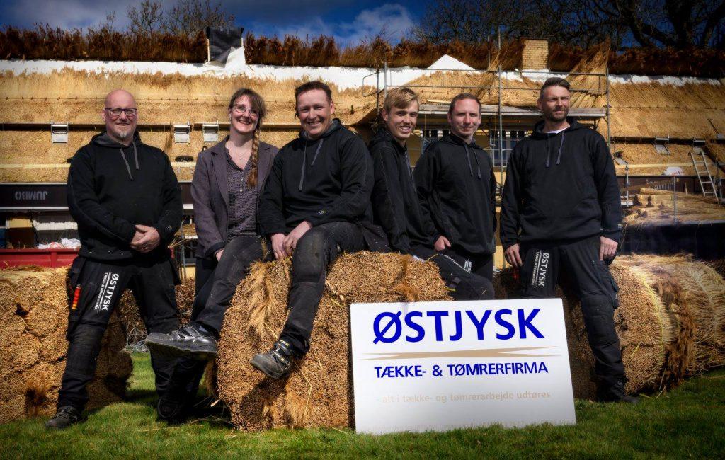 Kontakt Østjysk Tække- og tømrerfirma