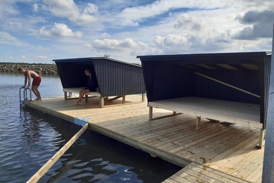 Shelters på vand