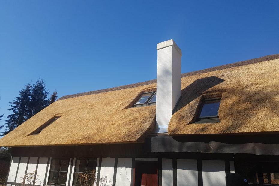 Sommerhus ved Skæring Strand
