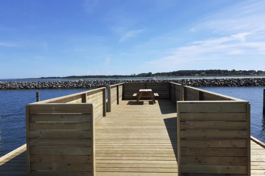 Ny bådebro Udbyhøj Havn